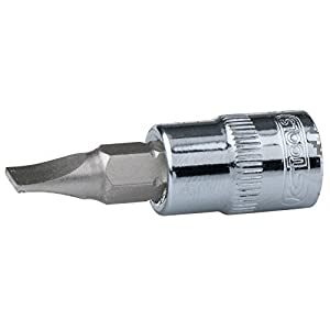 KS Tools 918.1489 1/4 Chrome + Douille de fente, 6,5
