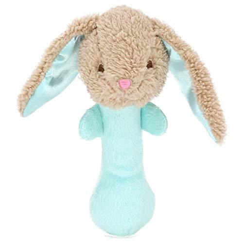 YaptheS Baby Soft Rattle Kinderspielzeug Handbell-Nette Karikatur Plüschtiere Spielzeug für Jungen...
