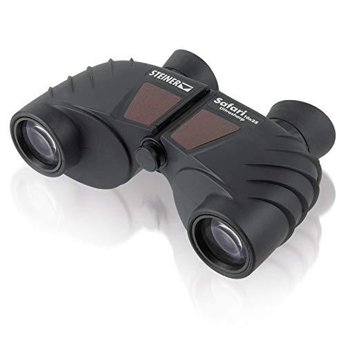 Oferta de Steiner Safari UltraSharp - Prismático (diámetro de lente 25 mm, ampliación 10x, sistema de enfoque Sports-Auto-Focus) negro