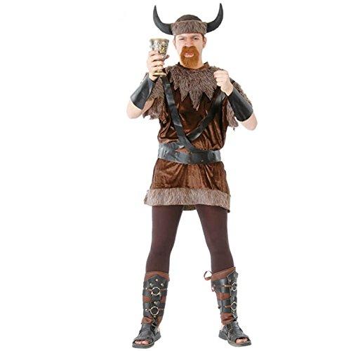 Wikinger - Kostüm für Herren Gr. M-XL, - Kostüme Wikinger