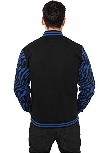 TB505 2-tone Zebra College Jacket Herren Jacke - 4