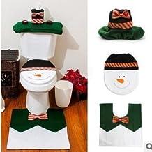 cofco Babbo Natale WC PLUS, con serbatoio acqua Sets + 4Set di asciugamani di carta Set