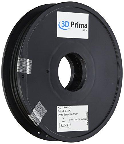 Prima 3dpccpla300gr 3d impresión filament, PLA, 3mm, 0,5kg bobina