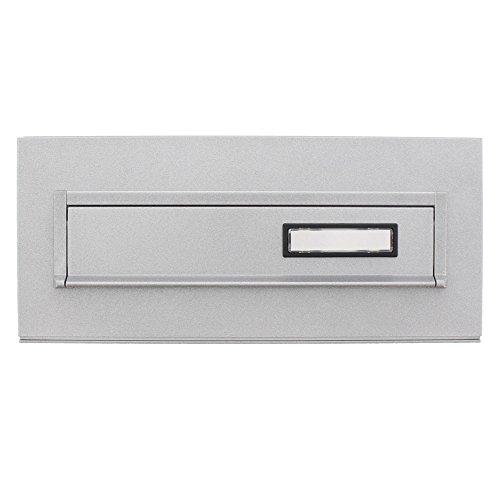 BURG-WÄCHTER, Einwurfblende mit Namensschild, Stahl, Blende 794 Si, Silber