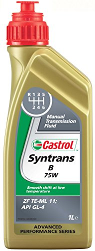 Castrol 21937 Syntrans B Fluido trasmissione manuale, 75W, 1 litro