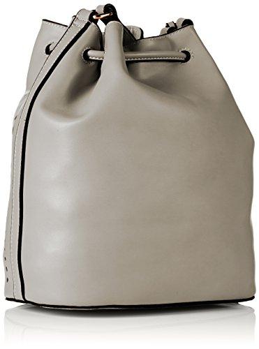 Saccess Damen S1655 Schultertaschen, 30x15x33 cm Grau (grey405)