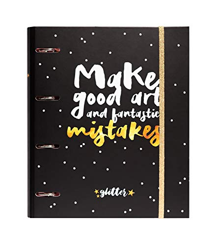 Grupo Erik Editores Glitter Stars - Carpeta 4 anillas