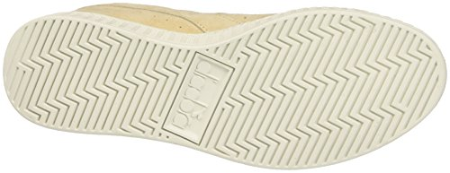 Diadora Game Low S, Sneaker a Collo Basso Unisex-Adulto Giallo (Beige Candeggiato)