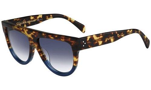 Originale La Optica UV400 Occhiali da Sole Unisex Specchiata Rotondi - Confezione Doppia Gommata Nero (Lenti: 1 x Grigio, 1 x Rosa specchiato)