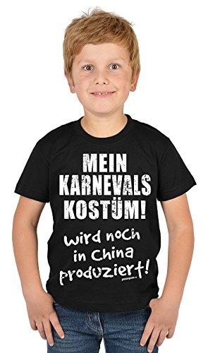 Jungen-Shirt/Kinder-Spaß-Shirt/Boy-Shirt lustige lustige Sprüche : Mein Karnevals Kostüm! Wird noch in China produzier (Noch Spiel Kostüm)