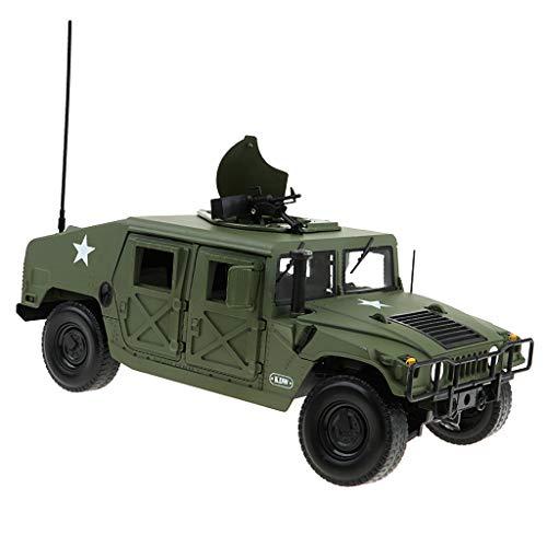 B Blesiya 1:18 Skala Groß Legierung Militärauto Militärfahrzeug Militär LKW Truck Modell Spielzeug Geschenk (Militär-lkw)