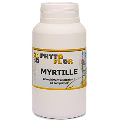 MYRTILLE BAIE Phytaflor - . : 300 comprimés
