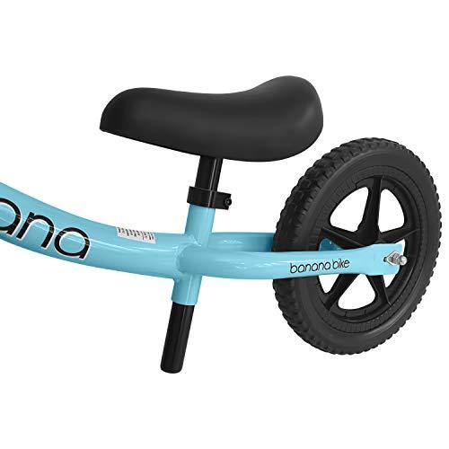 Banana Bike LT – Bicicletta da Equilibro, Bici Senza Pedali Leggera per Bambini – 2, 3 e 4 Anni (Blu) - 4