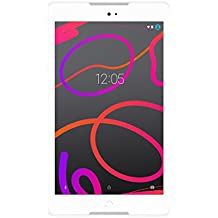 "BQ Aquaris M8 - Tablet de 8"" (WiFi, MediaTek Quad Core, 2 GB de RAM, almacenamiento interno de 16 GB, micro SD, cámara de 5 MP, Android), blanco"