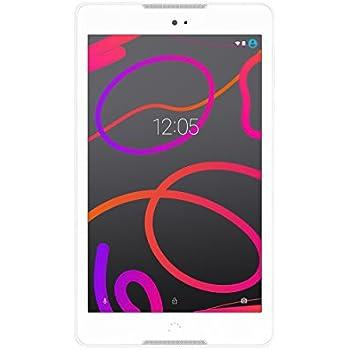 "BQ Aquaris M8 - Tablet de 8"" (WiFi, MediaTek Quad Core, 2 GB de RAM, almacenamiento interno de 16 GB, micro SD, cámara de 5 MP, Android), blanco"
