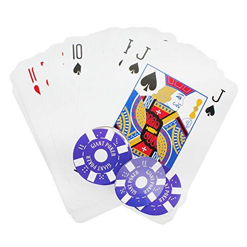 et mit 108 Pokerchips - Riesen Poker Set ()