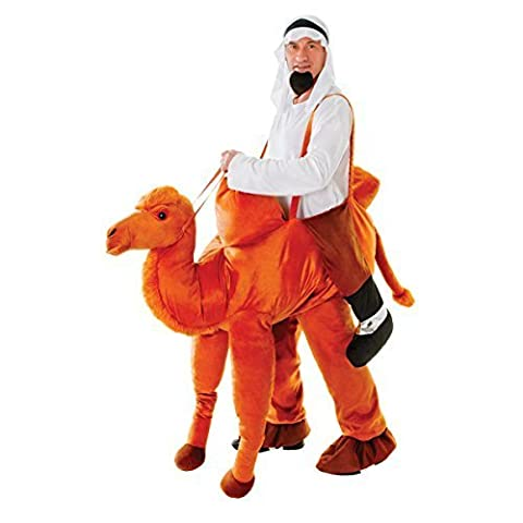 Ride On Camel Unisex Step In Fancy Dress Adults Animal Novelty Costume