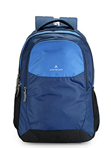 Aristocrat Revo 30 Ltrs Blue Casual Backpack (BPREVO1BLU)