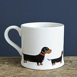 Diseño de perro salchicha taza dulce William