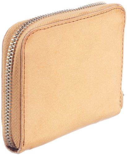 Swedish Hasbeens Wallet with Zipper 111, Unisex - Erwachsene Portemonnaies, Beige (Nature), 13x10x2 cm (B x H x T) Beige (Nature)