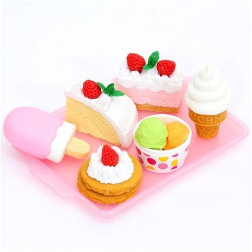 Iwako Radiergummi Dessert 6 Stück Set