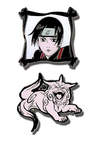 Naruto Shippuden: Sai & Imitation Beast Anime Pin Set by GE Animation