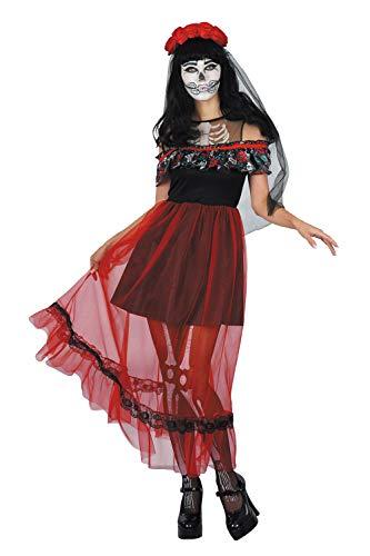 Skelett Braut Halloween Kostüm - U LOOK UGLY TODAY Halloween Kostüm