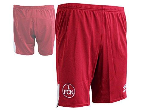 Umbro Erwachsene FC Nurnberg Away SS Shorts, rot, L