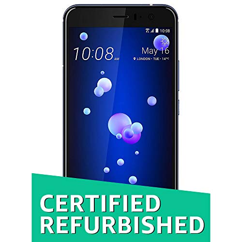 (CERTIFIED REFURBISHED) HTC U11 (Amazing Silver, 6GB RAM, 128GB Memory)