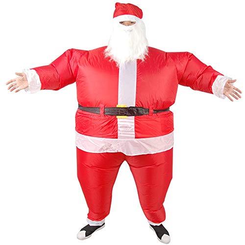 MIMI KING Halloween Aufblasbare Santa Claus Dress Up, -