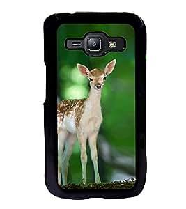 ifasho Designer Back Case Cover for Samsung Galaxy J1 (2015) :: Samsung Galaxy J1 4G (2015) :: Samsung Galaxy J1 4G Duos :: Samsung Galaxy J1 J100F J100Fn J100H J100H/Dd J100H/Ds J100M J100Mu (Deer Qingdao China Valsad)