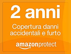 Amazon Protect 2 anni copertura danni accidentali e furto per videocamere da 50,00 EUR a 99,99 EUR