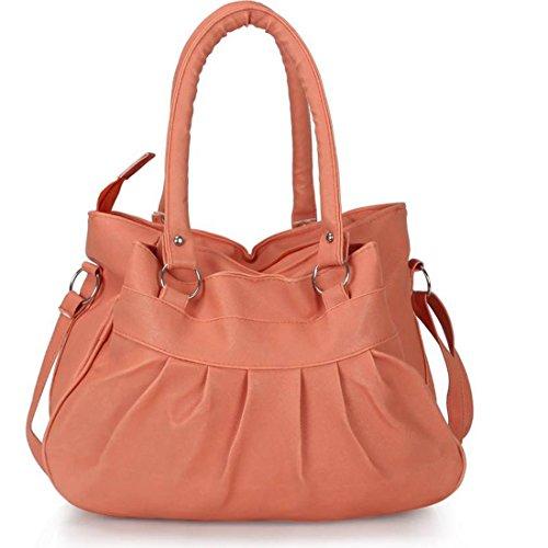 DAMDAM Women\'s Handbag (Peach)