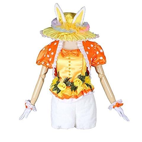 Cosplayitem Damen Mädchen Kaninchen Kostüm Verkleiden Lolita Kleid Set Fancy Dress Party Tanz