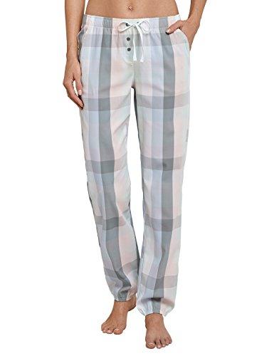 Schiesser Damen Schlafanzughose Webhose Lang, Mehrfarbig (Multicolor 1 904), 38 (Herstellergröße 038)