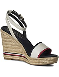 6a3710de42 Tommy Hilfiger Women's Iconic Elena Corporate Ribbon Platform Sandals