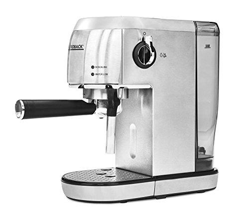 Gastroback 42716 Einbau-Kaffeemaschine/Edelstahl / 15.80 cm/Schnelles Aufheizen (40 Sekunden)