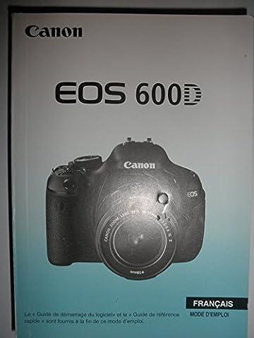 Canon Digitalkamera EOS 600D / Mode d