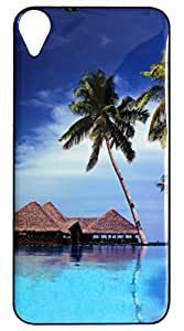 Vcare Shoppe Printed Mobile Back case cover for HTC Desire 820