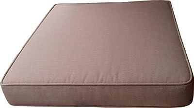 Sitzkissen 68x61,5x10cm Taupe zu Lounge Sessel/Sofa