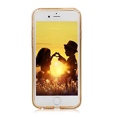 Custodia per iPhone X Sparkling Brillantini - Girlyard Scintillante Scintillio Bling Rigido Dura in Plastica Back Cover Case Sottile Colorate per Apple iPhone X - Gradiente Grigio Scuro Puro Oro