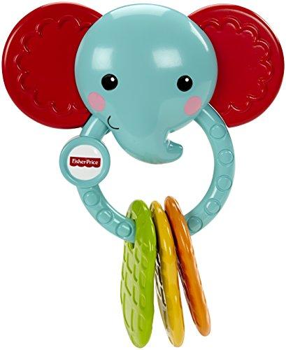 Mattel Fisher-Price CGR95 - Babyspielzeug - Elefanten-Beißring