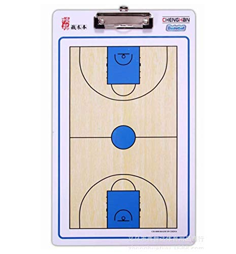 ges Basketball-Coach Board Magnetic Coaching Buch-Set mit Pen Basketball Coaching Clipboard Tactical Plate-Taktik ()