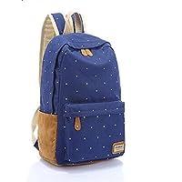 Bbox[XX001]Shoulder bag for women(Canvas Blue)