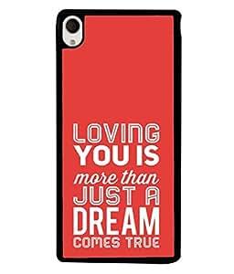 PrintVisa Designer Back Case Cover for Sony Xperia M4 Aqua :: Sony Xperia M4 Aqua Dual (Important you gift to Fiance Partner Lover)