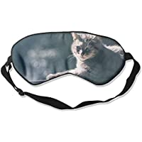 Eye Mask Eyeshade Cat Wood Sunshine Sleeping Mask Blindfold Eyepatch Adjustable Head Strap preisvergleich bei billige-tabletten.eu