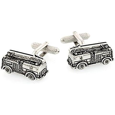 Collezione di auto d'argento vecchio fuoco scuola camion gemelli di auto d'epoca - Gemelli D'argento Collezione