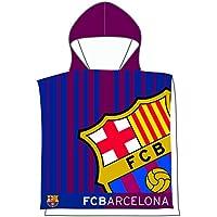 FCB FC Barcelona Poncho Toalla 202 Color azulgrana 55 X 110 Cm Skybrands A S 44ecf837b4c