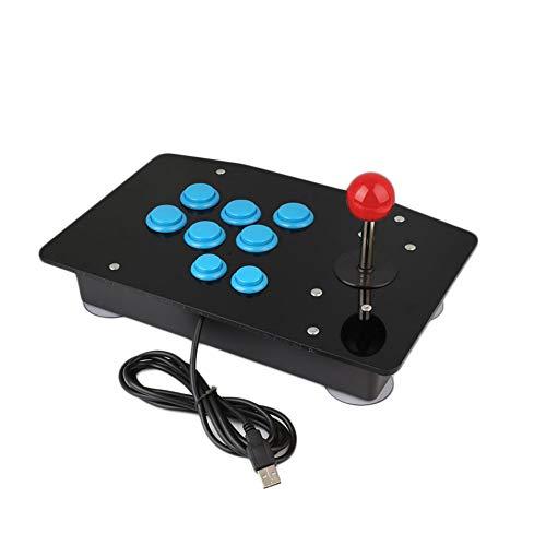 Cewaal 8 videogiochi USB Key Arcade Fighting Stick Joystick Gaming Controller Gamepad Per PC