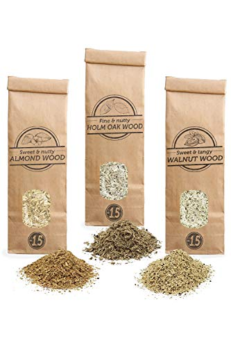 Smokey Olive Wood Sow 3X 300mL selección virutas